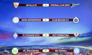 Europa League: andata quarti di finale
