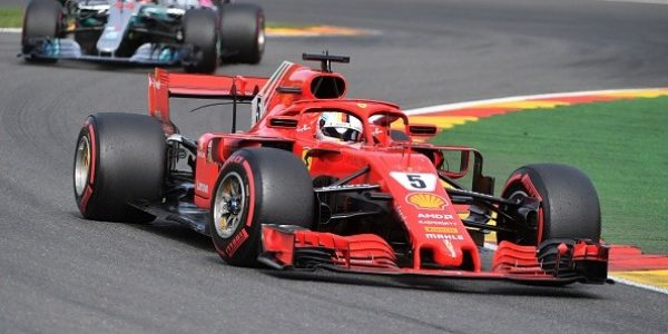 A Spa è grande Ferrari! Trionfa Vettel, Hamilton 2°. Raikkonen k.o.